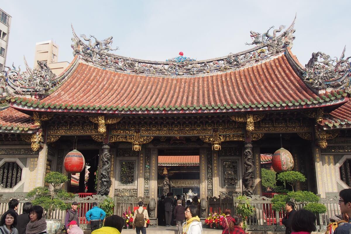 台湾 女子旅 縁結び 龍山寺