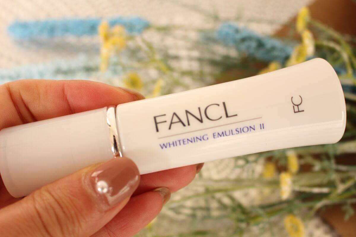 ビタミンC配合 美白乳液 FANCLホワイトニング 乳液