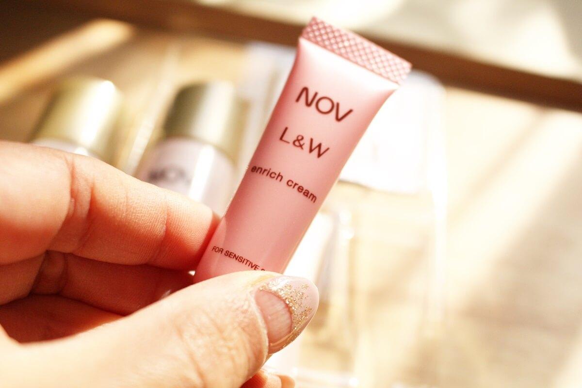 臨床皮膚医学 敏感肌コスメ ノブL&W エンリッチクリーム