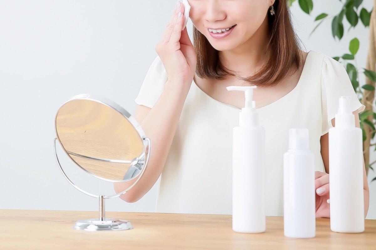 低刺激 敏感肌 化粧品 コットン
