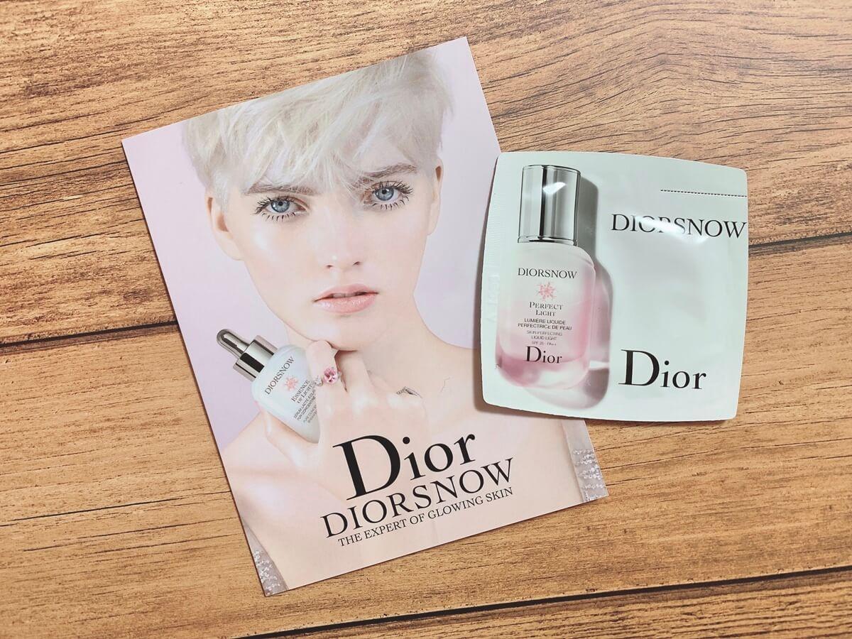 2019春夏 化粧下地 おすすめ Dior:ディオールスノー スノーパーフェクトライト