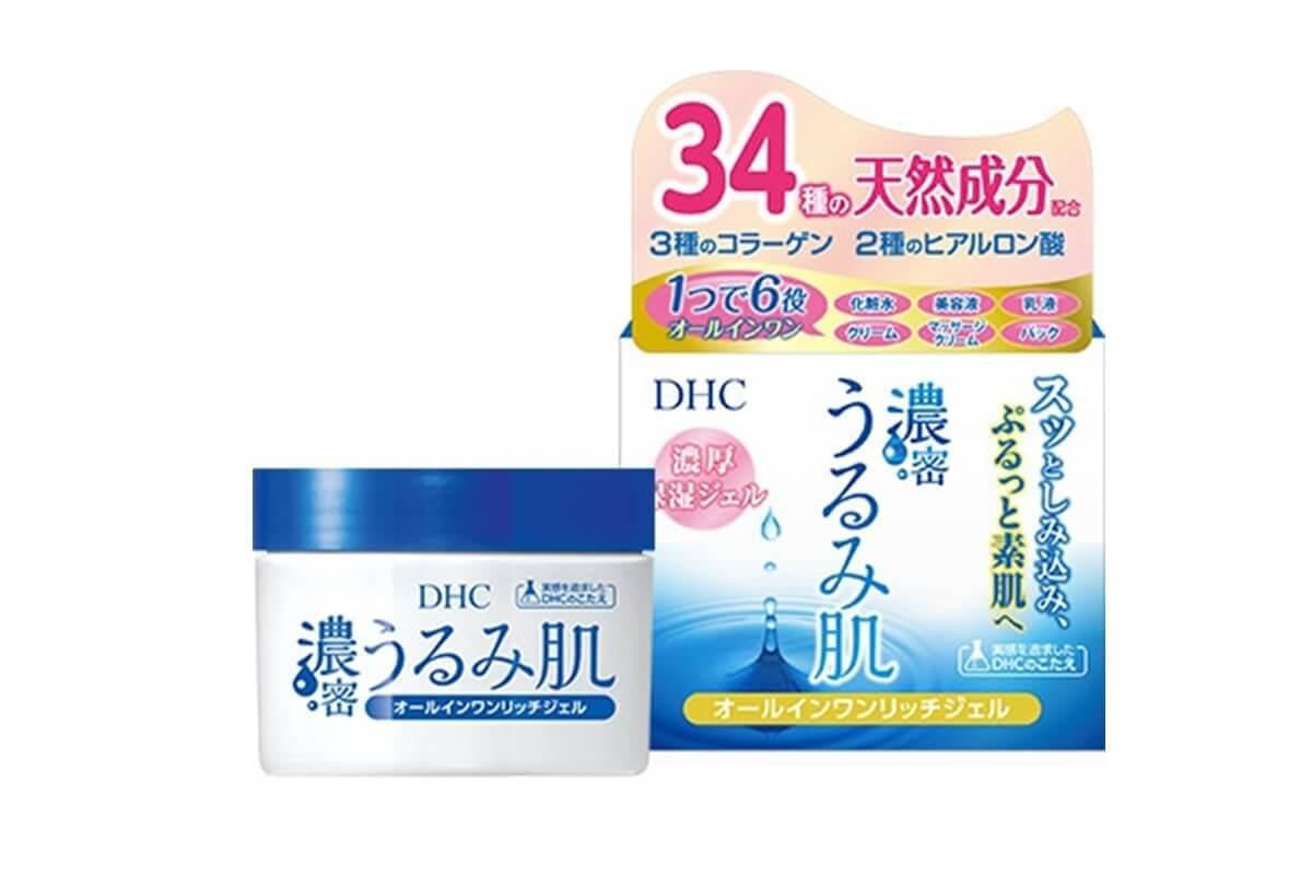 ヒアルロン酸,クリーム,エイジングケア,DHC濃密うるみ肌 オールインワンリッチジェル