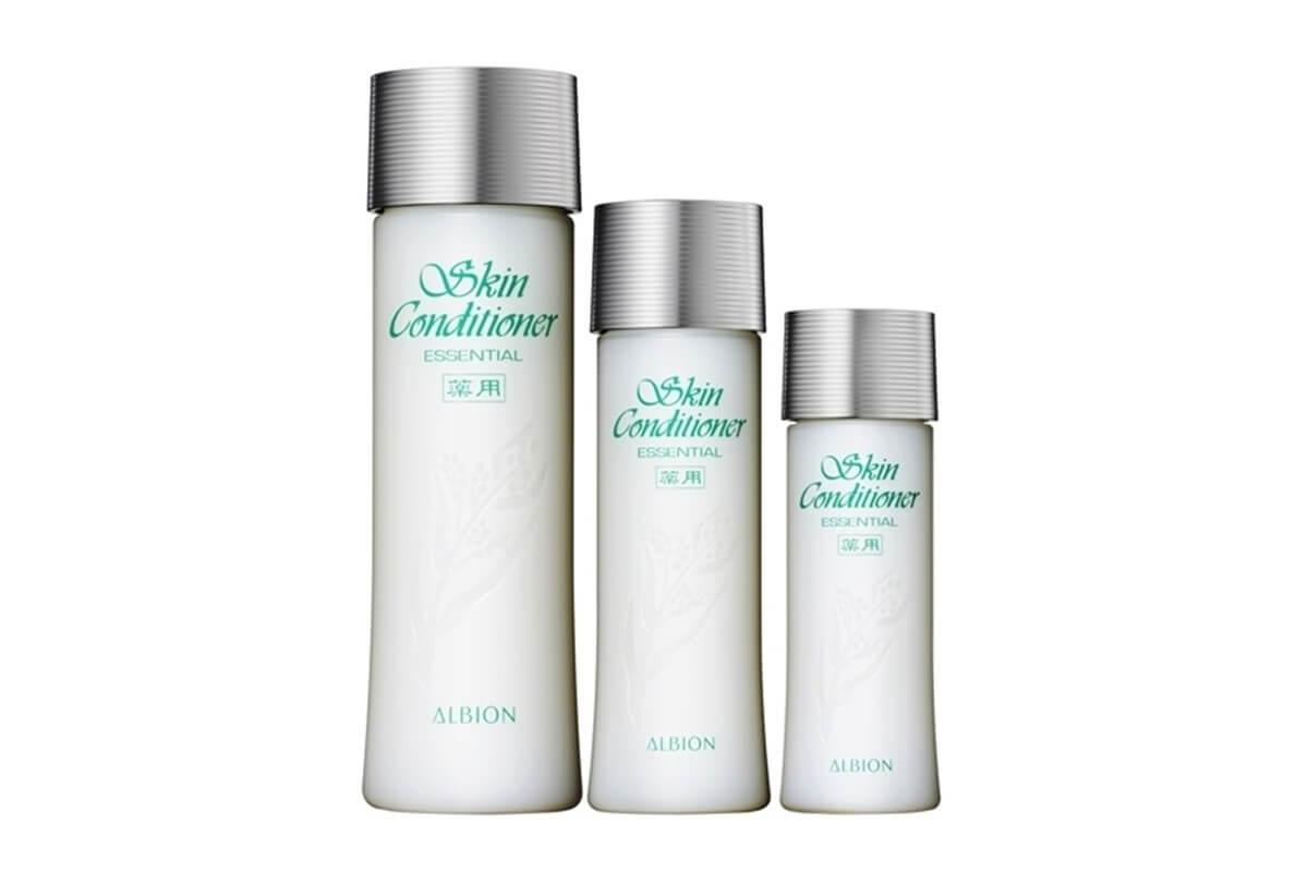 はとむぎ化粧水,美肌効果,アルビオン,スキコン
