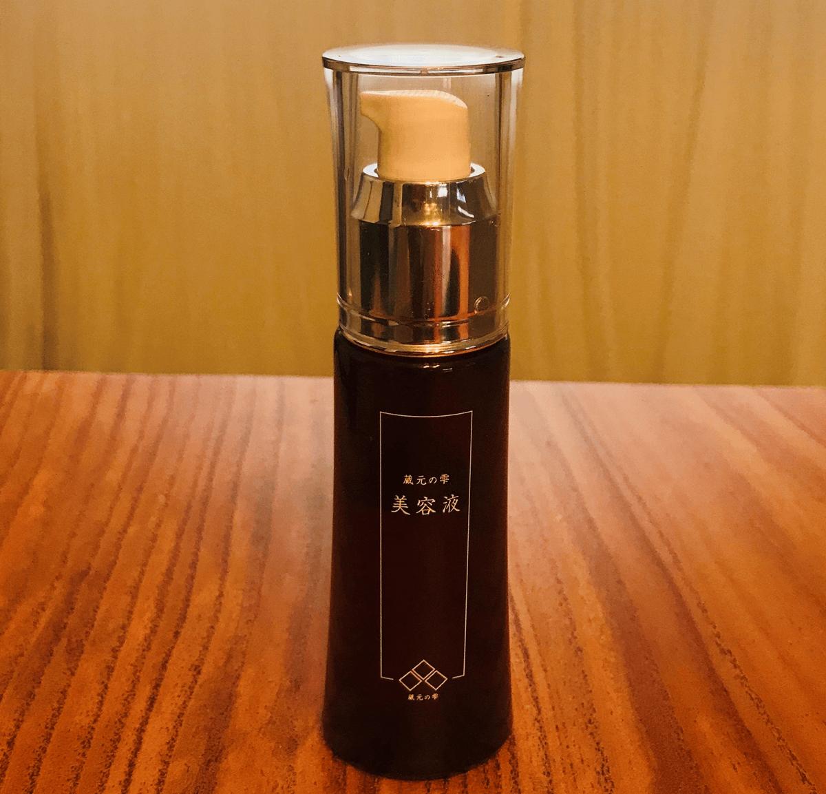 乾燥肌のためのスキンケア,蔵元の雫 SK美容液