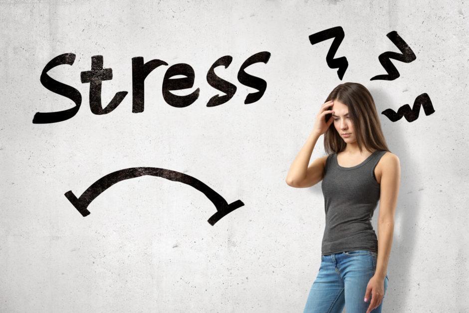 ストレスによる肌荒れ