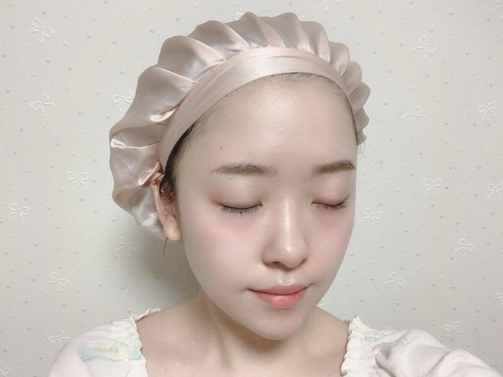 睡眠中の美髪ケア ナイトキャップ